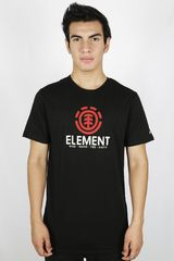 Polo de Hombre Element VERTICAL Negro