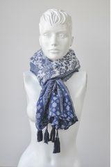 Bufanda de Mujer Just4u NJYH1458 Azul