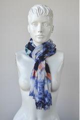 Bufanda de Mujer Platanitos XSL1308097 Azul