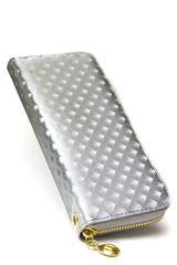 Billetera de Mujer Platanitos LM1601 Plateado