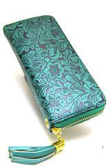 Billetera de Mujer Platanitos LM1609 Turquesa