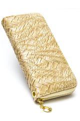 Billetera de Mujer Platanitos LM1605 Tan