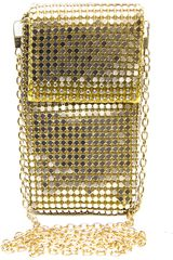 Platanitos Dorado modelo CXPB2911 Unisex Portacelular