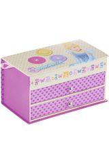 Joyero de Niña Disney PrincesasPRINCESAS 10x19x9. Rosado