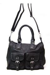 Platanitos Negro de Mujer modelo CFB53-1628 Casual Carteras