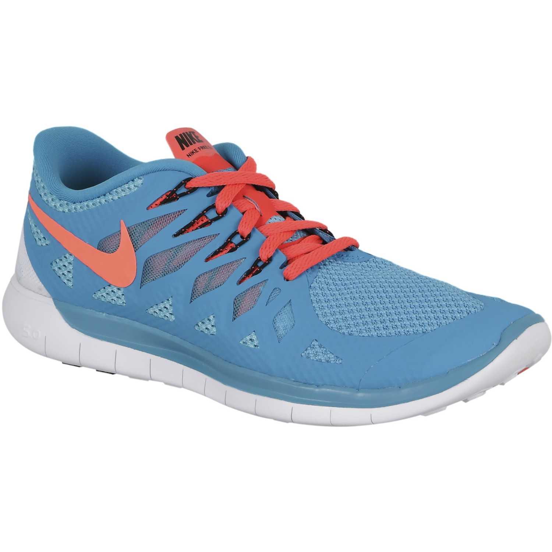 Nike Free turquesa