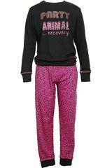 Pijama de Mujer Kayser 60.991 Negro
