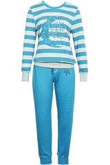 Pijama de Mujer Kayser 60.993 Petroleo