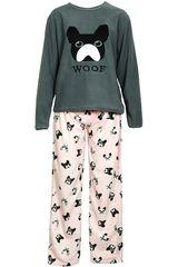 Pijama de Mujer Kayser 60.997 Gris