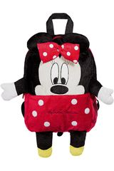 Mochila de Niña Minnie Mouse1000206634 Negro / Rosado