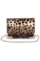 Platanitos Leopardo de Mujer modelo TH-34555-5 Carteras Vestir