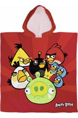 Toalla de Niño Angry Birds TO-PON.RED TEAM Rojo