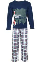 Pijama de Hombre Kayser 67.948 Azul