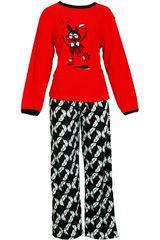 Pijama de Mujer Kayser60.1047 Rojo
