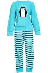 Pijama de Mujer Kayser60.1050 Turquesa
