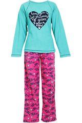 Pijama de Mujer Kayser 60.1045 Turquesa