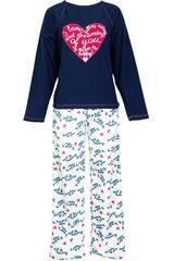 Pijama de Mujer Kayser 60.1045 Azul