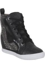 Just4u Negro de Mujer modelo ZB 3052 Zapatillas Casual Zapatillas casual Botínes