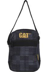 Morral de Hombre CAT RYAN Negro /Gris