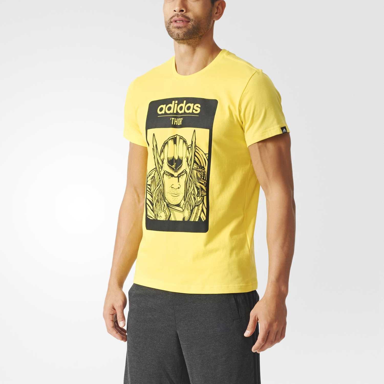 Adidas Hombre De Polo Amarillo Thor UwpEx44qT