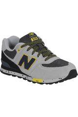 New Balance Gris de Jovencito modelo KL5749TP Deportivo Walking Zapatillas Bebe Calzado
