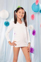 Camiseta de Niña Kayser 47.01 Blanco