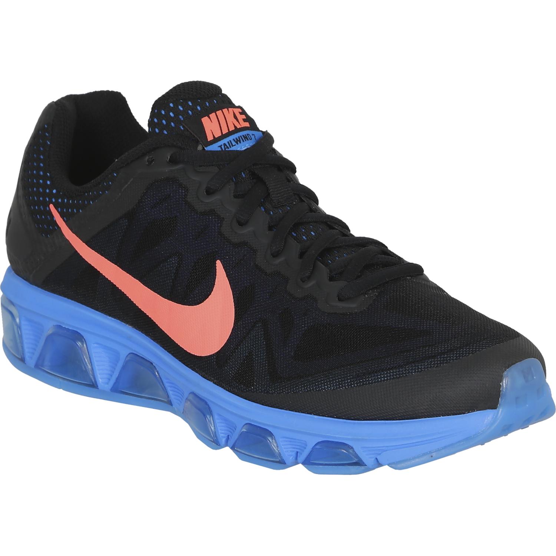 reputable site 0ebb5 2c8a8 Zapatilla de Hombre Nike Negro   Celeste air mx tailwind 7