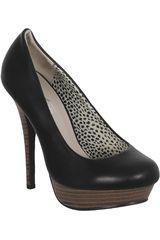 Just4u Negro de Mujer modelo C 41961 Casual Zapatos Tacos