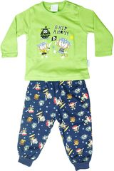 Pijama de Niño Kayser 00.509 a Verde