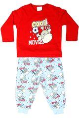 Pijama de Niño Kayser 00.509 a Rojo