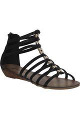 Sandalia de Mujer Platanitos SW REBEL17 Negro