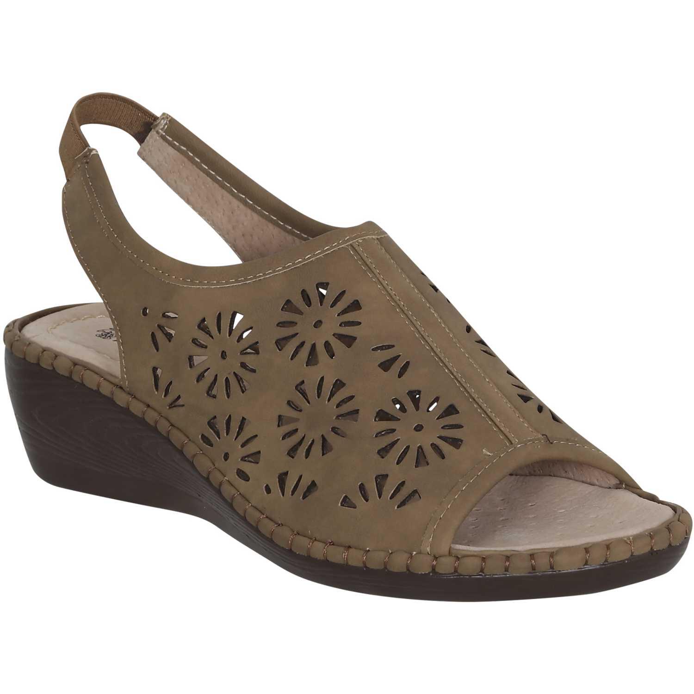 Sandalia de Mujer Platanitos Tan spt 2710