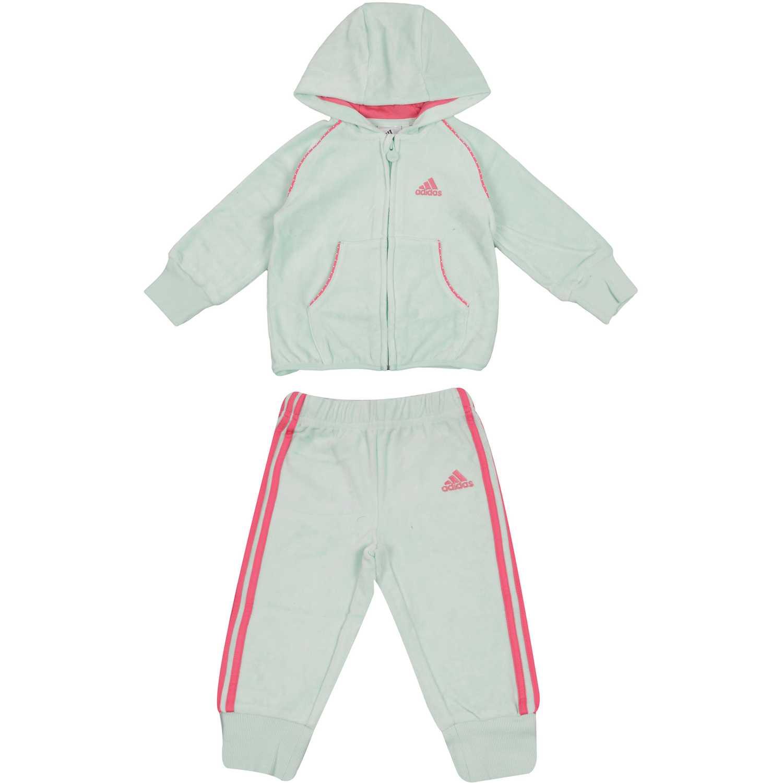 Buzo de Niña adidas Turquesa i j g vel suit  ddd2282103bc0
