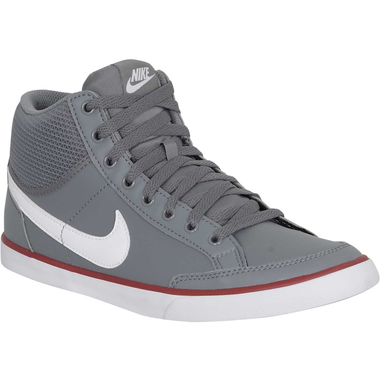 4c00573ba Zapatilla Botín de Hombre Nike Gris / Blanco capri iii md lt ...
