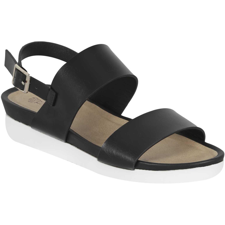 Sandalia de Mujer Platanitos negro spt 61002