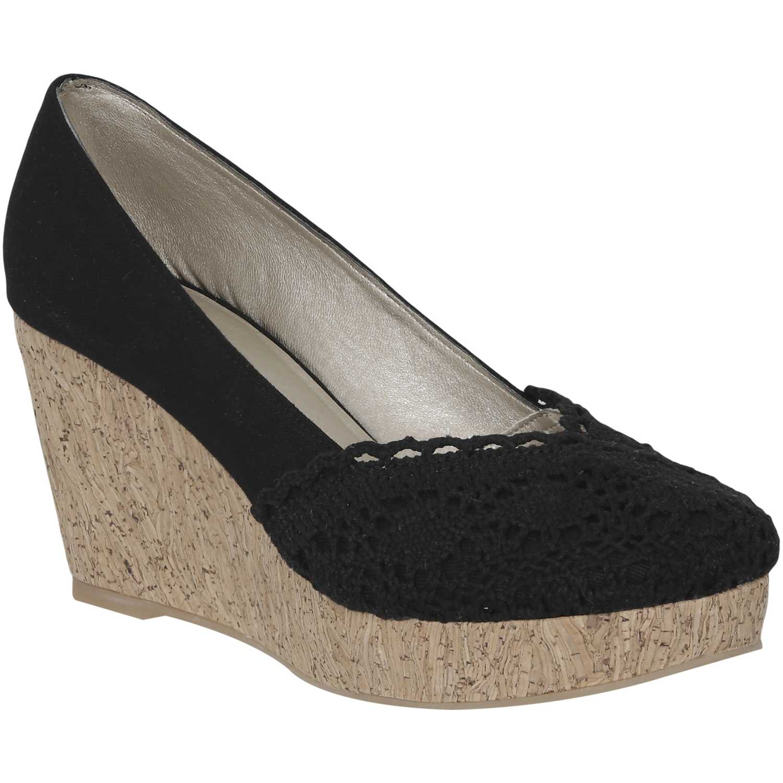 Calzado de Mujer Platanitos Negro cw tina2