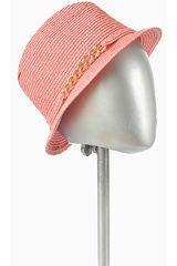 Sombrero de Mujer Platanitos Coral KJ15-H046