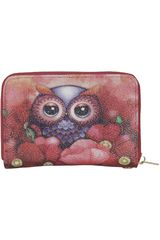 Billetera de Mujer Platanitos HY15241-1 Rojo