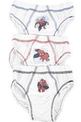 Spider Man Blanco de Niño modelo US-1109 Ropa Interior Y Pijamas Lencería Trusas