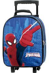 Mochila con ruedas de Niño Spider Man 3000110978 Azul