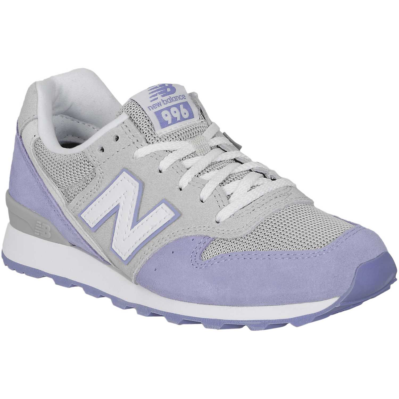 zapatillas gris new balance mujer