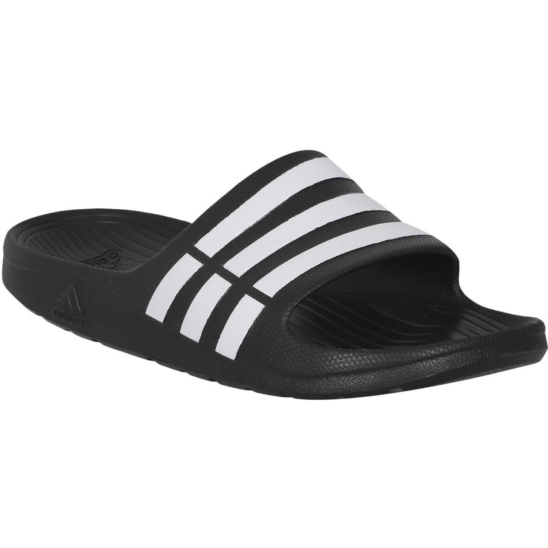 low priced 66bc7 d450b Sandalia de Hombre adidas Negro duramo slide
