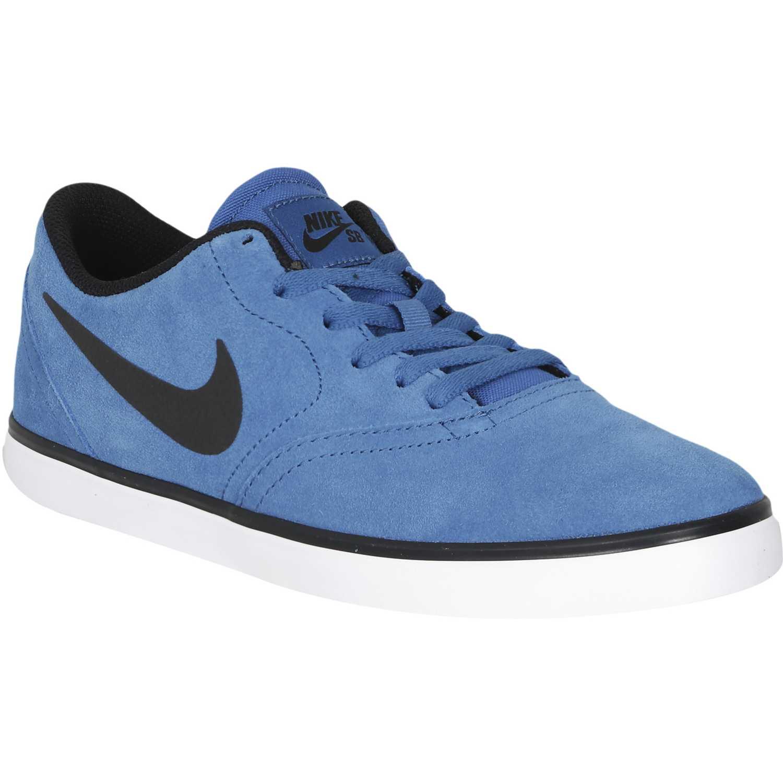 Zapatilla de Nike Hombre Nike de Azul sb check 486326