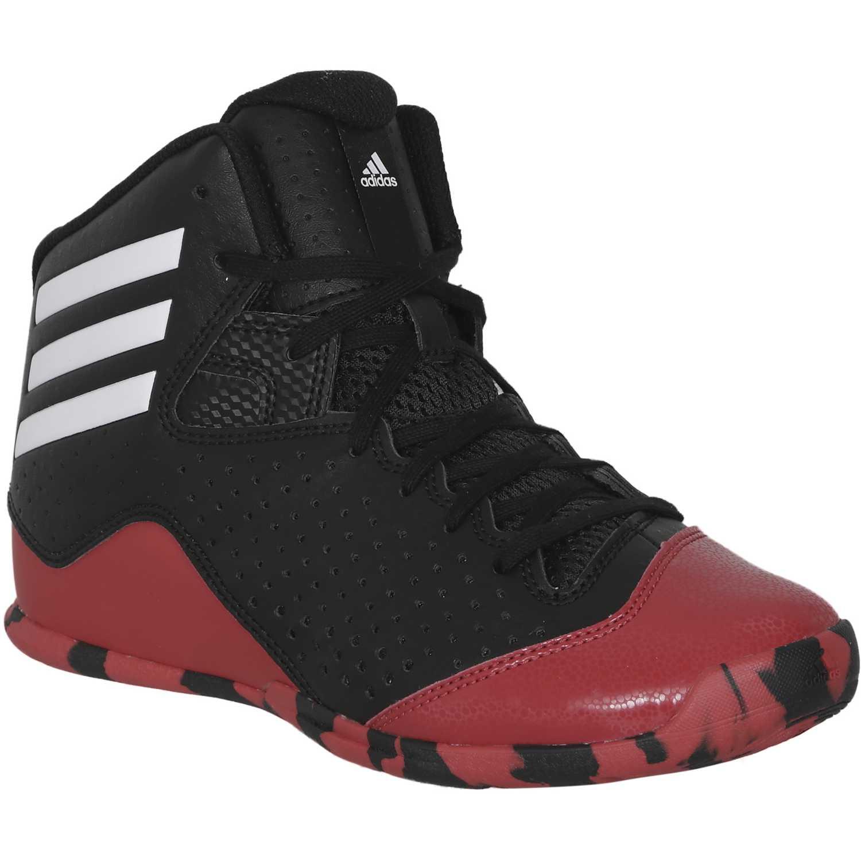 hot sale online b0f76 c36db Zapatilla de Jovencito adidas Negro   Rojo nxt lvl spd k