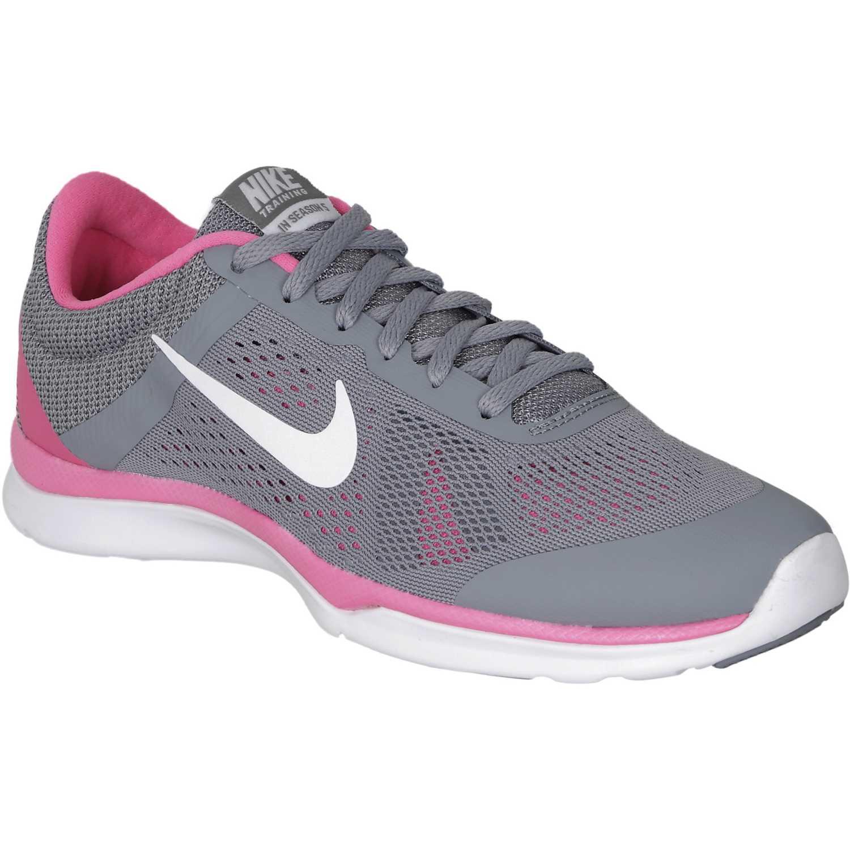 Zapatilla de Mujer Nike Gris season / Rosado in season Gris tr  w  platanitos ab164d