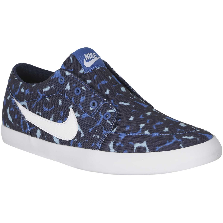 Zapatilla de Mujer Nike Azul futslide slip w