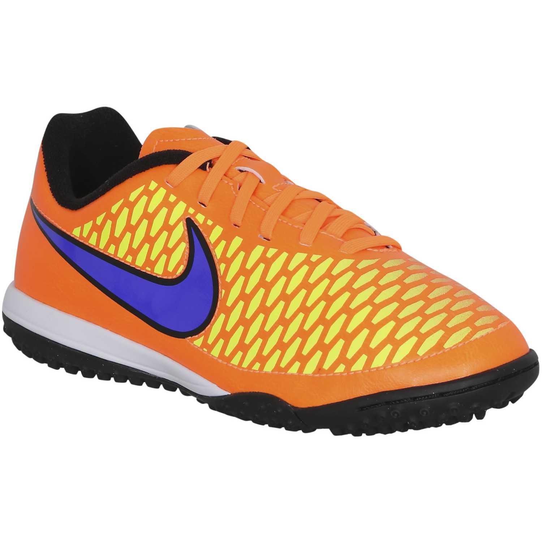 Zapatilla de Jovencito Nike Anaranjado magista tf jr  751417c0a9959