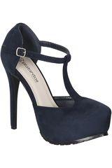 Calzado de Mujer Platanitos Azul CP 8350