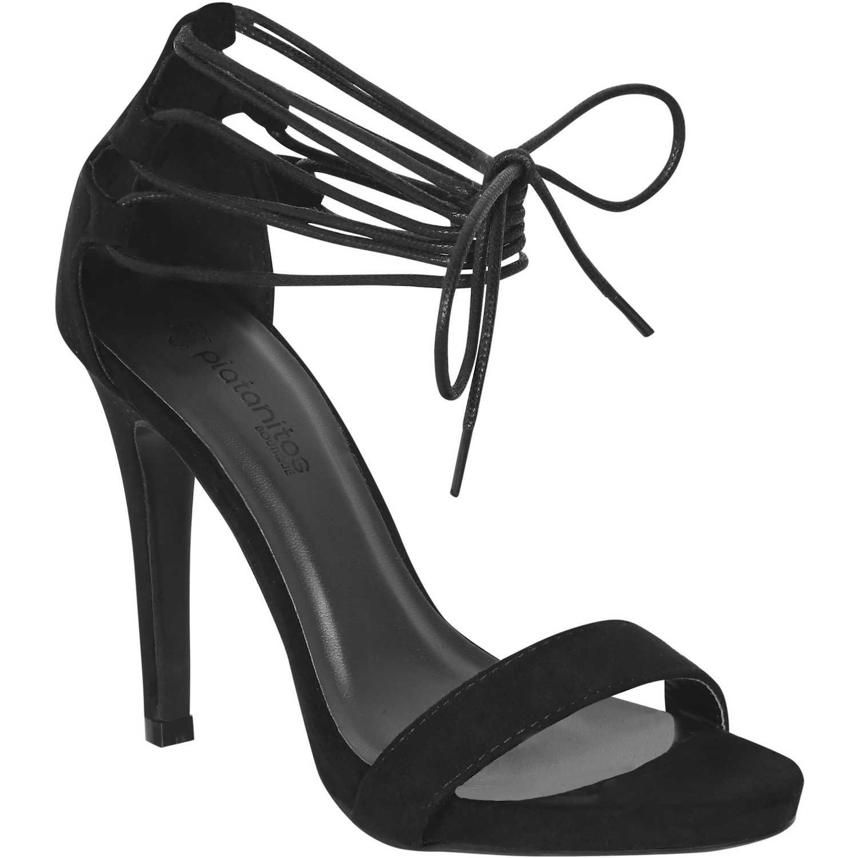 Sandalia de Mujer Platanitos Negro sp 4151