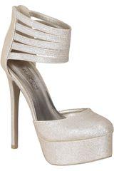 Platanitos Champagne de Mujer modelo CP RAVISH96 Zapatos Plataformas Casual